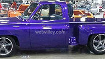 1975 Chevy Pickup painted by Wet Willey